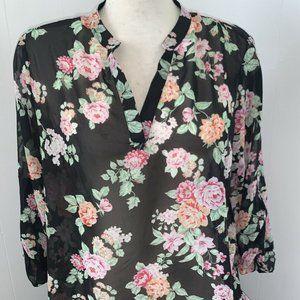 🎁4-25$No Boundaries Floral Tunic